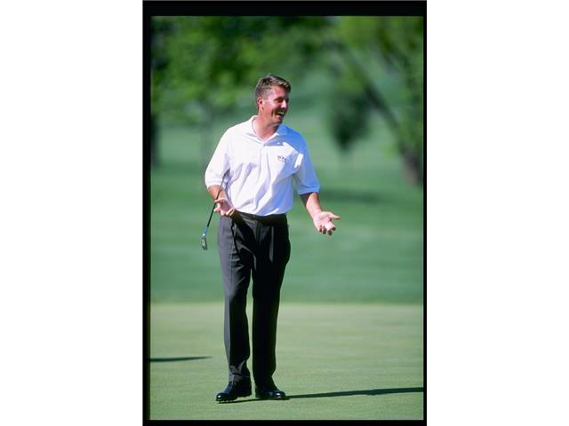 Phil Mickelson at the 1997 Nelson Classic