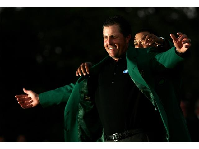 Phil Mickelson at the 2006 Masters