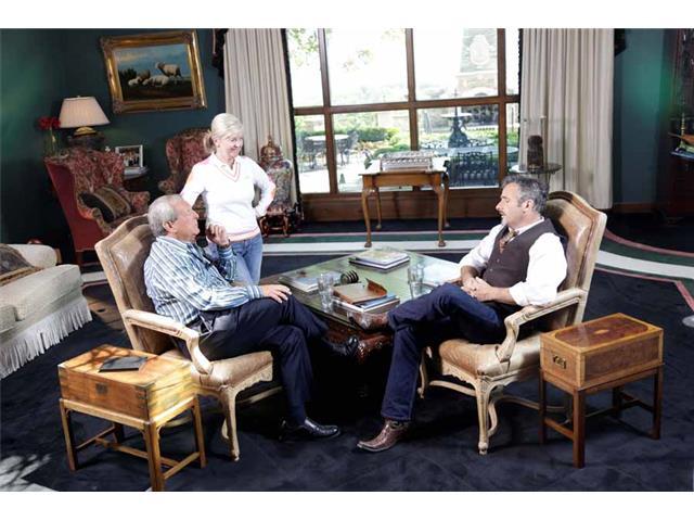 Feherty, Fuzzy Zoeller and David Feherty