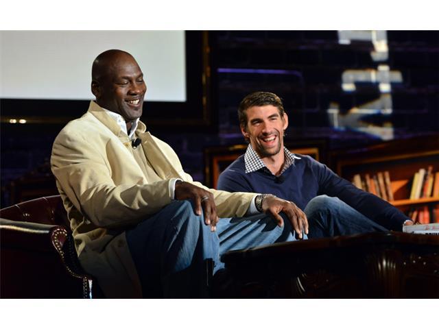 Michael Jordan; Michael Phelps