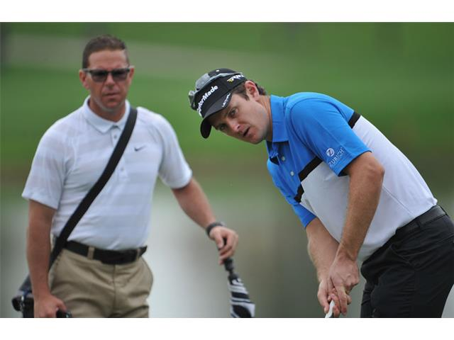 Justin Rose and Sean Foley
