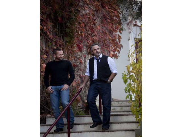 Feherty, Sergio Garcia and David Feherty