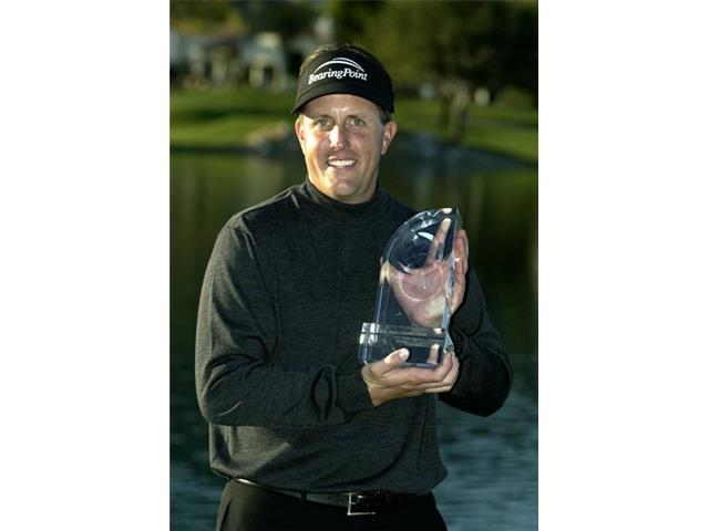 Phil Mickelson at the 2004 Bob Hope Chrysler Classic