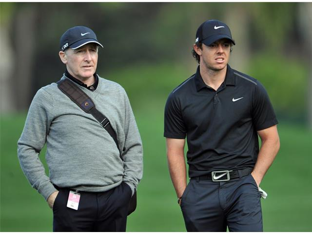 Rory McIlroy and Michael Bannon