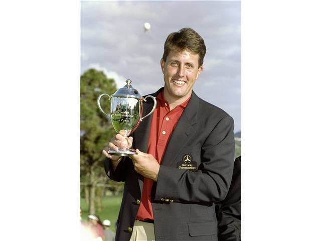 Phil Mickelson at the 1998 Mercedes Championships