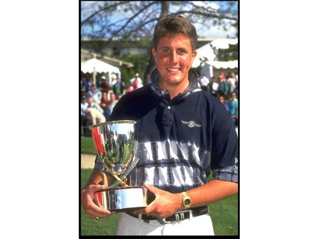 Phil Mickelson at the 1993 Buick Invitational