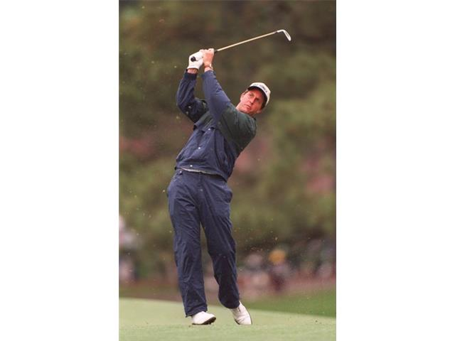 Phil Mickelson at the 1995 Masters