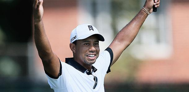 Tiger Woods at the 2013 Tour Championship