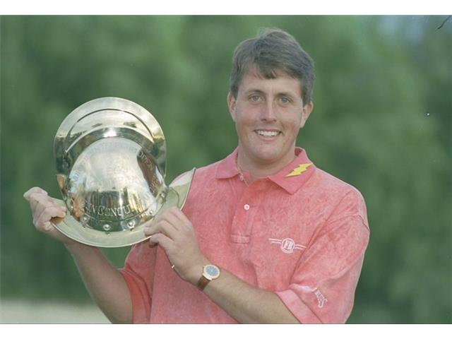 Phil Mickelson at the 1995 Telecom Open