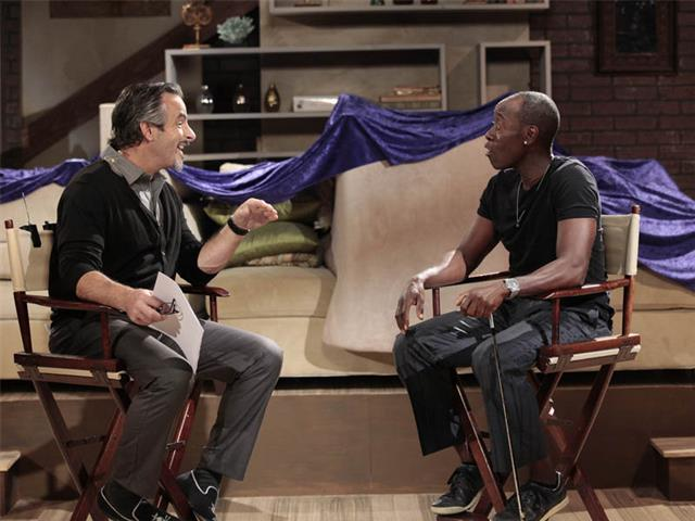 Don Cheadle and David Feherty