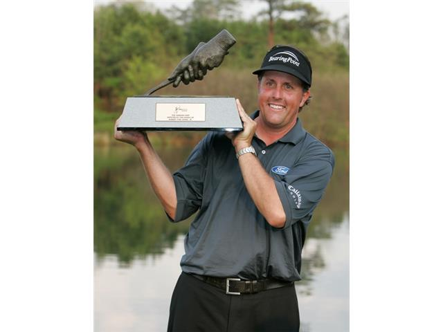 Phil Mickelson at the 2006 BellSouth Classic