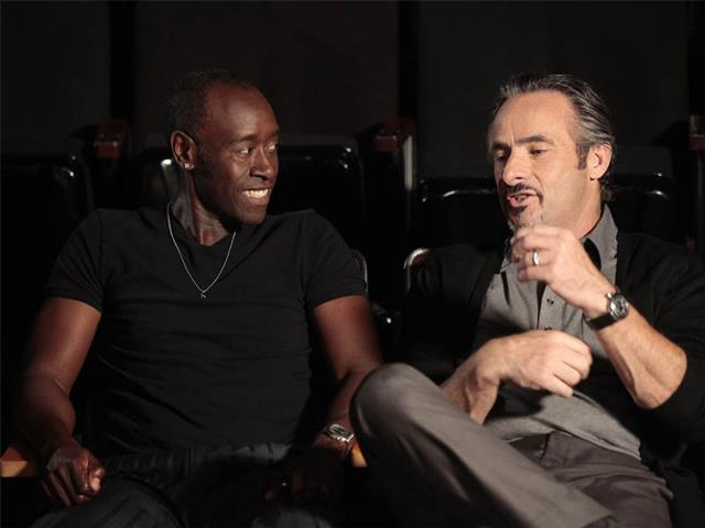 David Feherty and Don Cheadle