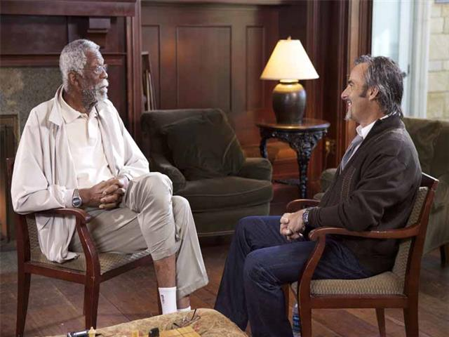 Feherty, Bill Russell and David Feherty