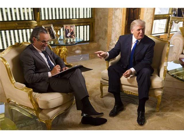 Feherty, David Feherty and Donald Trump