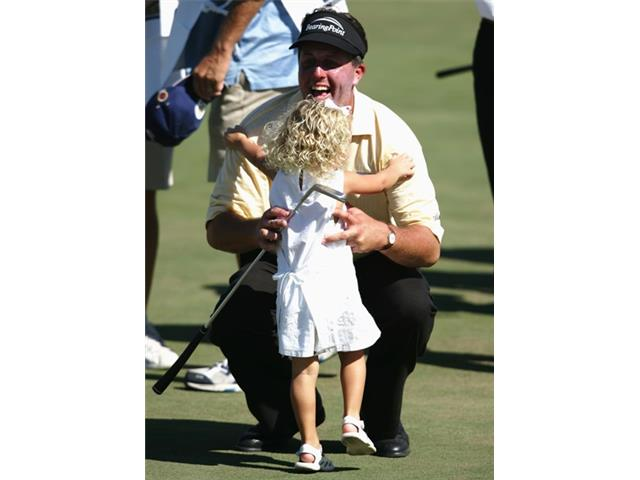 Phil Mickelson at the 2004 PGA Grand Slam of Golf