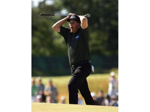 Phil Mickelson at the 2004 U.S. Open