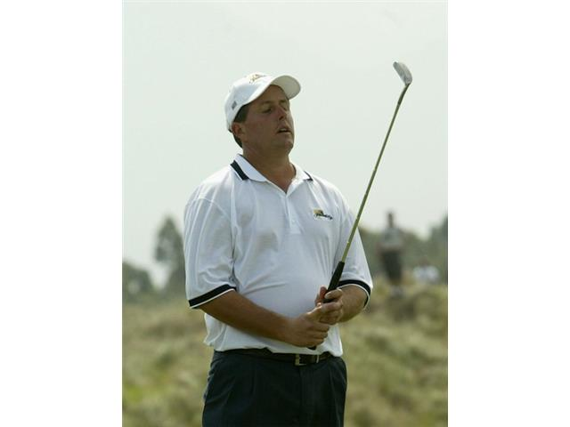 Phil Mickelson at the 2003 Ryder Cup