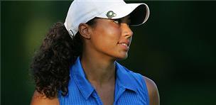 Cheyenne Woods in the 2009 Wegmans LPGA second round
