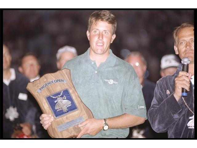 Phil Mickelson at the 1996 Phoenix Open