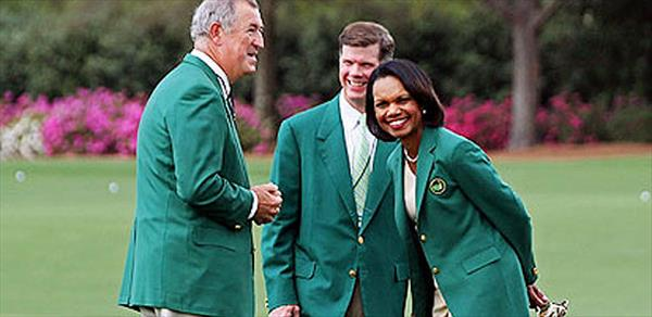 Lefty on the Right? Phil Mickelson Plays Augusta National Golf Club With Condoleezza Rice | Golf Channel