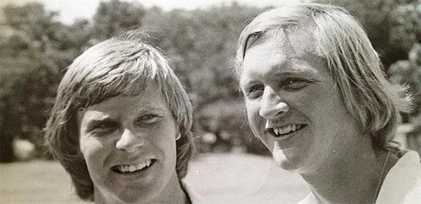 Ben Crenshaw and Eddie Pearce
