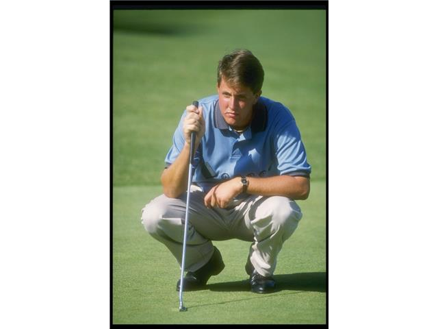 Phil Mickelson at the 1991 Shearson Lehman Open