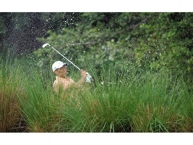 Tiger Woods: 2013 Honda, Round 1, 6th hole
